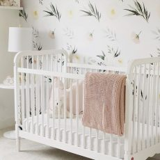 Baby Girl Nursery Plan