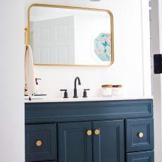 Our Clean, Modern Master Bath Reveal